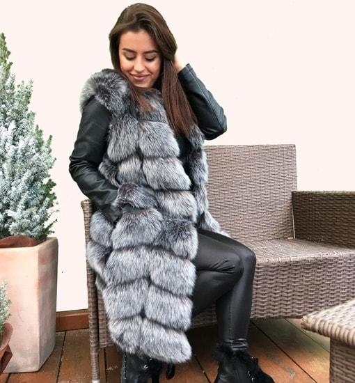 my fur vest